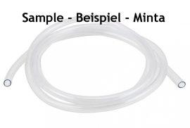PVC hose transparent - gasonline/diesel/water/air - different sizes x 1000 mm