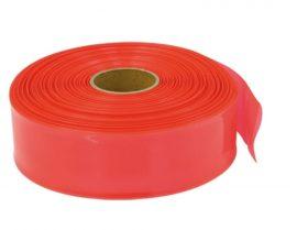 Zsugorcső 70 mm x 1000 mm - piros neon