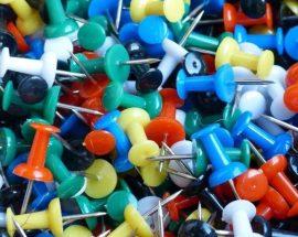 Hobby pins  - 10pcs