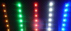 LED strips 100 cm 12V - szín: fehér / piros / zöld / kék / sárga