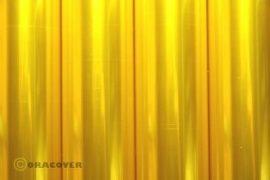ORACOVER átlátszó sárga 60x100cm