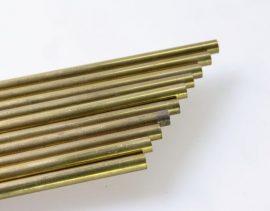 Sárgaréz rúd d 2,5 x 1000 mm