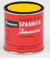 Spannfix festék 100 ml sárga Graupner