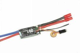 Szénkefés szabályzó Power V 60 BEC 60A Graupner
