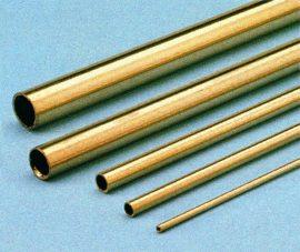 Sárgaréz cső 6,0 x 4,2 x 1000 mm kemény
