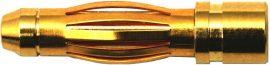 GO 4 mm PREMIUM csatlakozó APA - 1db