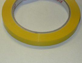 Ragasztószalag sárga - 9 mm x 60 m