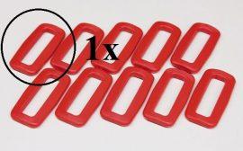 Fastech Verschluss f. Hook & Loop OMNI 2 in 1 Band - rot - 1 Stk.