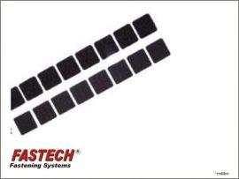 Tépőzár öntapados HOOK & LOOP - 20 x 20 mm - 10 pár - Fastech
