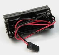 Akku/elem tartó doboz (4 x AAA) kábellel - JR/UNI csatlakozó