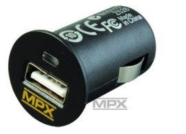 USB 12V DC - auto szivargyújtó aljzat