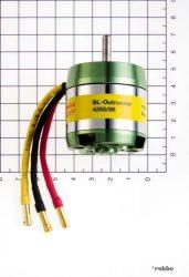 Roxxy brushless outrunner motor  4250/06 800 rpm/v 195g