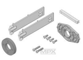 Motortartó kisalkatrészekkel AcroMaster/Magister/Mentor -Mutliplex