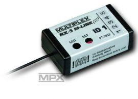 Vevő RX-5 M-LINK ID 1 - 2,4 GHz - szabad - Multiplex