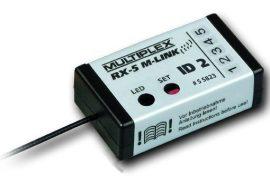 Vevő RX-5 M-LINK ID 2 - 2,4 GHz - EasyStar II - Multiplex