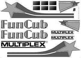 Dekorbogen FunCub Fun Cub Multiplex