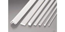 ABS műanyag L profil 2,5 x 9,0 mm