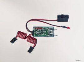 Akku kapcsolókábel 2x 4-5NimH-max 5A-19g