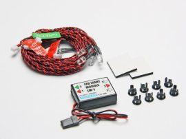 LED szett (7x LED) standard repülők/helikopter