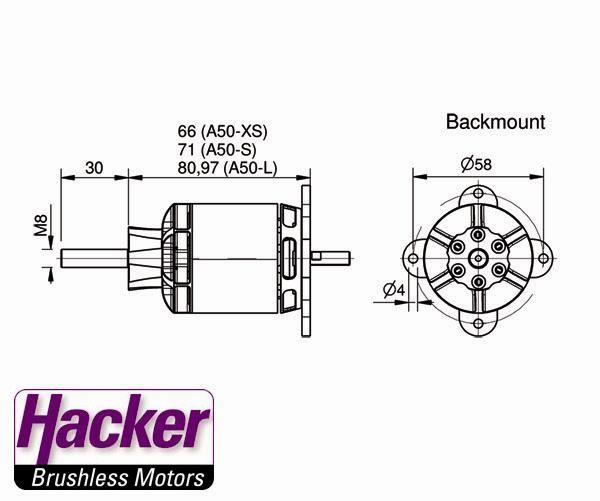 Hacker Motor A50-14s V3 345g