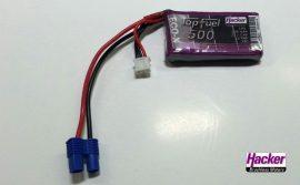 Top Fuel Lipo 2s 500 mAh 25C Hacker
