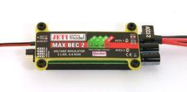 MAX BEC 2 - 5,5-16V -> 5,5 - 7,0V max. 20A 90g  - Jeti