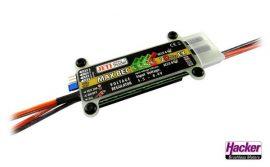 MAX BEC 2D PLUS EX 5,5-16V -> 5,0 - 6,0V max. 20A 90g - Jeti