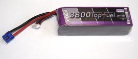 Top Fuel Lipo 5s 3800mAh 20c Hacker
