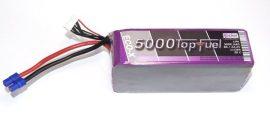 Top Fuel Lipo 6s 5000 mAh 20c Hacker