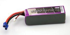 Top Fuel Lipo 5s 4500mAh 20c Hacker