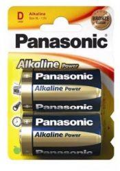 Elem Panasonic Power LR20 XL 1,5 v  alkáli - 2 db