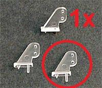 SlowFlyer Kormányemelő ø 0.8mm tolórúd - 3 db