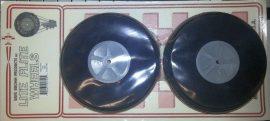 Kerék hab d: 125 mm tengely: 5 mm Pár