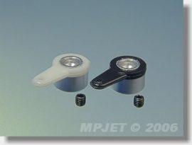 Mozgatókar 12mm, Ø 2,5 mm - MPJET - 2x fekete
