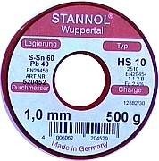 Lötzinn SN60PB40 - 1,0 x 1000 mm
