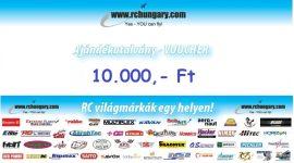 Ajándékutalvány - 10.000 Forint