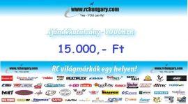 Ajándékutalvány - 15.000 Forint