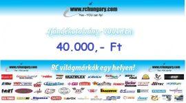 Ajándékutalvány - 40.000 Forint