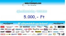 Ajándékutalvány - 5.000 Forint