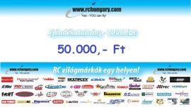 Ajándékutalvány - 50.000 Forint